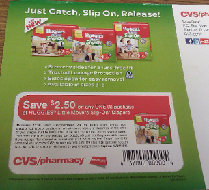 Huggies coupons in the mail