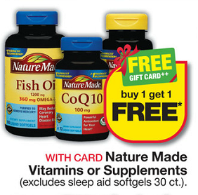 Vitamin discount center coupon