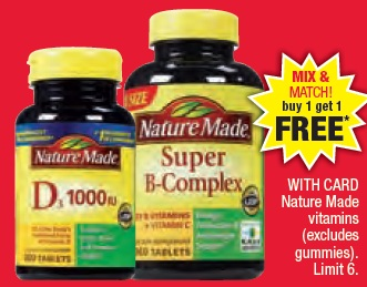 nature start vitamins vitamin deals sunday cvs christie february