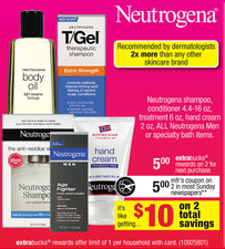 Neutrogena at CVS