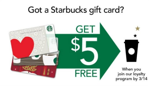 Starbucks Gift Card Promo