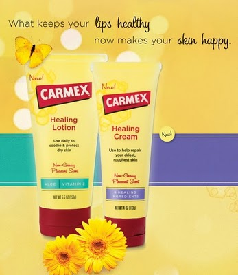 Carmex Healing Lotion & Cream