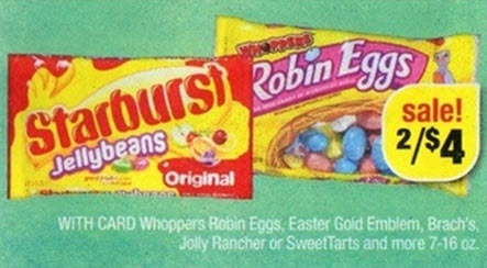 Whoppers Robin Eggs Sale (CVS 3-17)