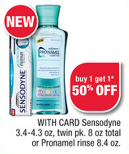 Sensodyne Sale (CVS 4-21)