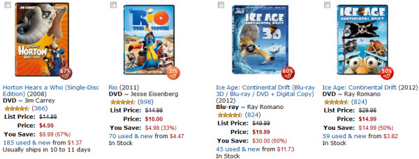 Amazon Animated Movie Sale