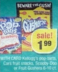 Betty Crocker Fruit Snacks Sale (CVS 6-2)