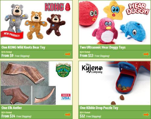 DoggyLoot Dog Toys