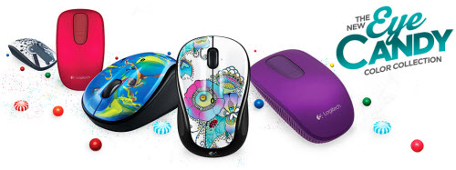 Logitech Eye Candy Giveaway