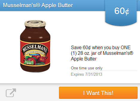 Musselman's Apple Butter (Saving Star)