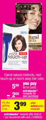 Clairol Hair Color Sale (CVS 6-23)