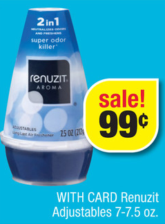 Renuzit Air Freshener Sale (CVS 6-30)
