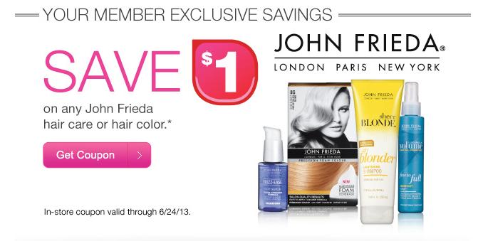 John frieda coupon 2018