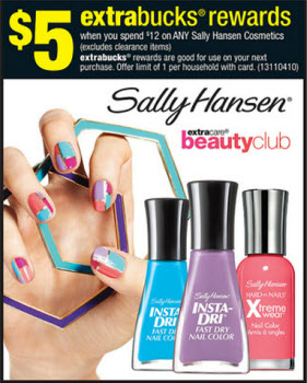Sally Hansen Cosmetics Sale (CVS 7-28)