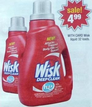 Wisk Laundry Detergent Sale (CVS 7-21)