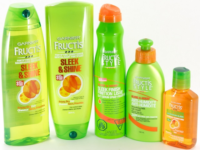 Fresh clean hair is the best! Head over to Dollar Tree and buy one Garnier Fructis Shampoo or Conditioner, oz $, sale price through 3/