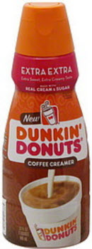 Dunkin' Donuts Coffee Creamer