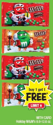M&M's B1G1