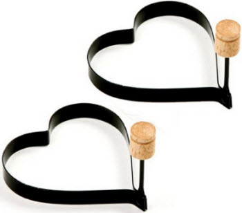 Amazon Norpro Nonstick Heart Pancake Egg Rings
