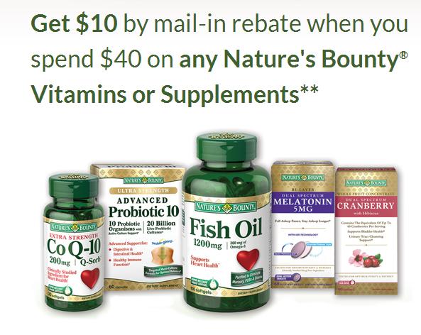Cvs Nature S Bounty Vitamins