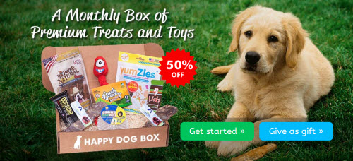 Happy Dog Box (50Pct Off)