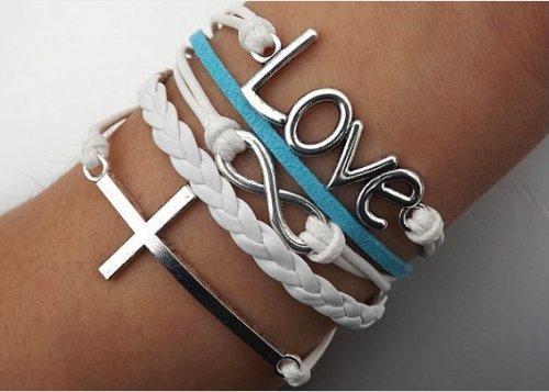 Amazon Vintage Love Infinity Bracelet