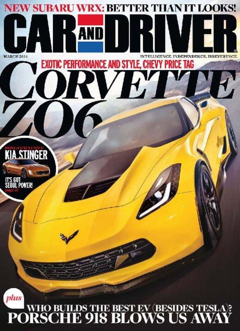 Car and Driver Magazine (Mar2014)