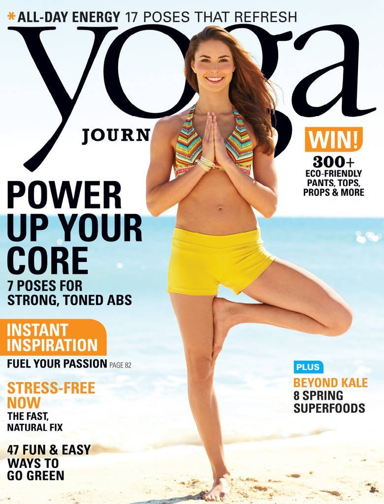 Yoga Journal Magazine just $3.17