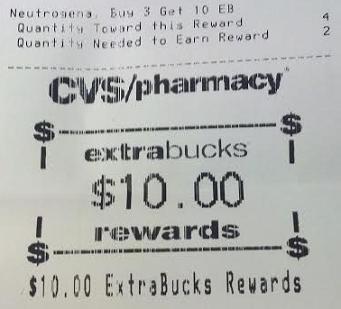 CVS – Neutrogena Money Maker (No Coupons Required)!