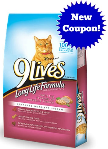 Coupons For Lives Dry Cat Food