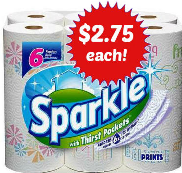 Sparkle 6pks $2.75 Each Next Week!