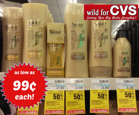 Suave Natural Infusions 99¢ Each!