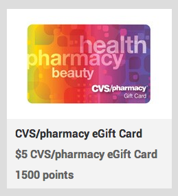 CVS Gift Cards on Recyclebank