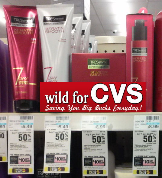 Hurry! New Coupon for $1.24 TRESemmé Keratin Smooth Products!