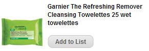 garnier wipes