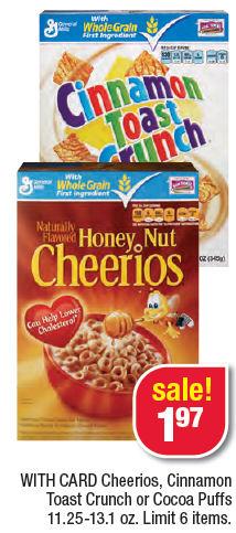 gm cereals