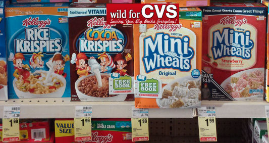 Kellogg's Cereals As Low As $1.49!
