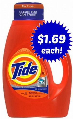 Tide As Low As $1.69 Each Next Week!