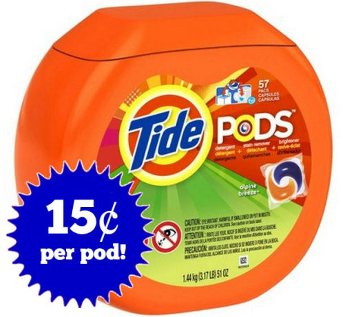 Save Over 50% on Tide Pods 11/2!