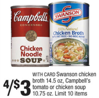 Campbell's Condensed Soups Just 62¢ Each Next Week!