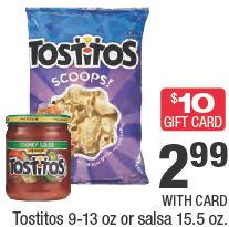 tostitos next week
