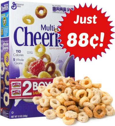 for Multi-Grain Cheerios  $1 Off Multi Grain Cheerios