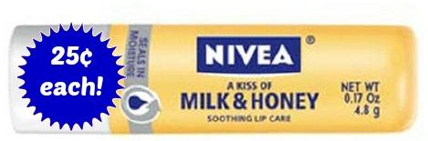 nivea milk blue