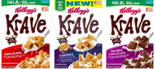 Krave Cereal coupons