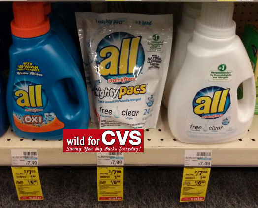 New Coupon For All Detergent Just 2 Each