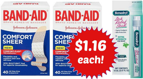 Band Aid & Benadryl