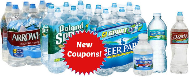 New water coupons
