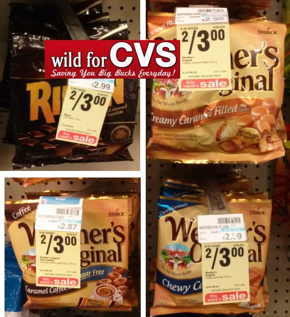 Riesen & Werther's Candies As Low As 50¢!
