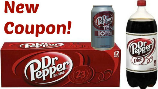 Shopping Tips for Dr Pepper: 1. Grocery stores regularly run 10 for $10 sales on Dr. Pepper and other soft drink brands, this is the best time to stock up! You can usually find a $ off coupon that can be paired with a sale. If you like the 12 or 24 packs, wait for a three for $10 sale and use the $2 off coupons to maximize your savings. 2.