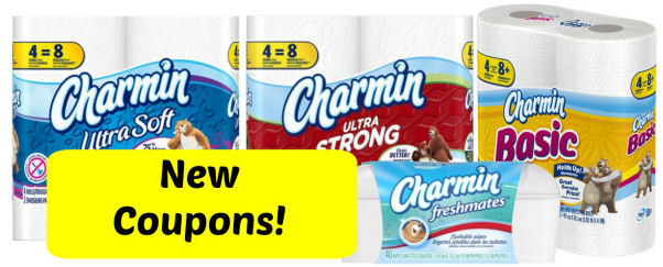 New Charmin coupons