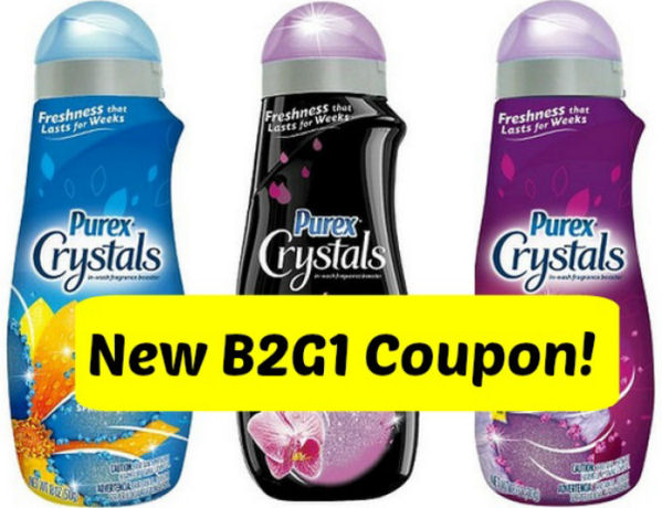 New B2G1 Purex Crystals Coupon!